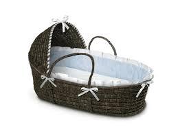 Hooded Dog Bed Badger Basket Hooded Moses Basket With Gingham Bedding U0026 Reviews