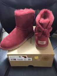 s ugg australia mini bailey bow boots 150 ugg australia mini bailey bow corduroy boots redwood