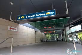 Botanic Garden Mrt Botanic Gardens Mrt Station Land Transport Guru