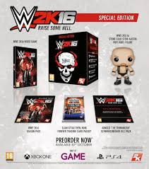 wwe 2k16 trailer reveals cover star stone cold steve austin wwe 2k16 special edition revealed with stone cold funko pop vinyl