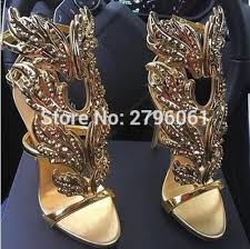 aliexpress buy new arrival fashion shiny gold plated aliexpress buy bling drilled angle wings high