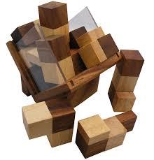 wooden puzzle complex cube brain teaser wooden puzzle