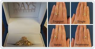 how to wear wedding ring set proper way to wear engagement ring and wedding band tbrb info