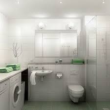 Nice Small Bathrooms Incredible Nice Small Bathroom Design With Washing Machine Under