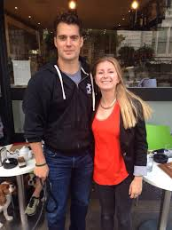 cavill out and about in london sporting new haircut