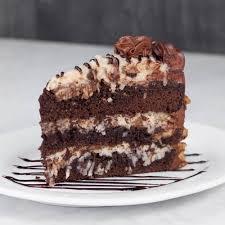 german chocolate cake specialty cake menu dilettante chocolates