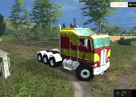 2017 kenworth cabover kenworth k100 cabover truck v 1 0 farming simulator 2019 2017