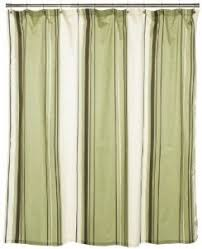 Green And Beige Curtains Cotton Shower Curtain Foter