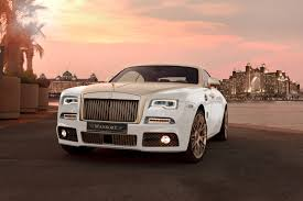 roll royce phantom 2016 white mansory works their magic on a rolls royce wraith