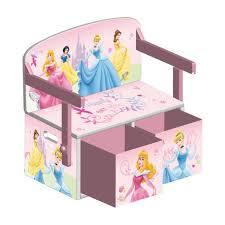 bureau coffre 3 en 1 banc coffre pupitre princesses disney