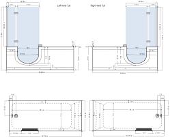floor plan shower symbol aquarite deluxe step in tubs u2013 show now at homeward bath