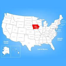 map usa iowa jonite usa united states architectural grates iowa state