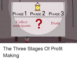 Profit Meme - phase 1 phase 2 hase 3 collect profit underpants southpark cc com