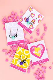 printable valentine u0027s day necklace cards sarah hearts
