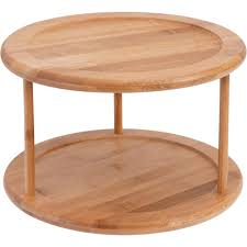 Umbrella Lazy Susan Turntable by Better Homes And Gardens Two Tier Turntable Bamboo Storage