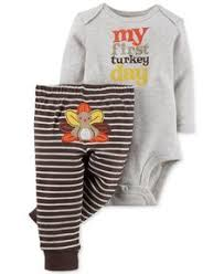carters baby set baby boys s turkey thanksgiving 3