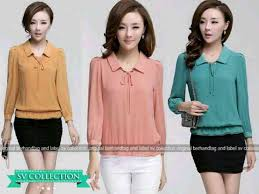 blouse wanita blouse zaskia v82