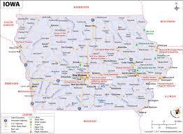 road map of iowa usa iowa map map of iowa ia