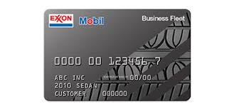 Best Gas Cards For Business Business Gas Credit Cards From Exxonmobil Exxon And Mobil
