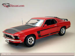 Mustang Boss 302 Black And Red Welly 1969 Ford Mustang Boss 302 Red 2516 In 1 18 Scale
