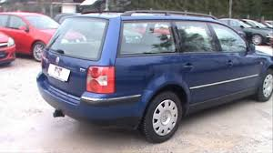 volkswagen wagon 2001 vw passat variant 1 9 tdi comfortline full review start up engine