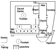 mission san diego de alcala floor plan mission santa bárbara church missiontour