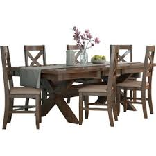 dining room table sets weathered wood dining table in accordance with glamorous dining room
