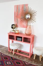build a console table build a farmhouse style tv console sideboard diy entryway tables