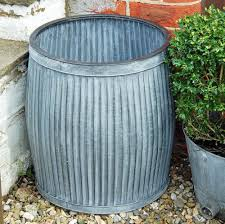 deco en zinc bowley u0026 jackson vintage dolly tub zinc planter bowley u0026 jackson