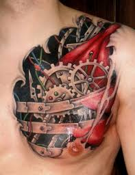 mechanic tattoos 56 mechanical gear tattoos