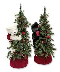 holiday bear decoration tabletop holiday bear in tree orvis