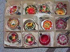 12 antique miniature german lauscha glass ornaments ca 1900