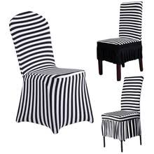 Black And White Striped Dining Chair Popular Striped Dining Chair Covers Buy Cheap Striped Dining Chair