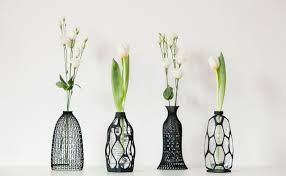 glass milk bottle vase 3d printed vases give new life to old bottles design milk