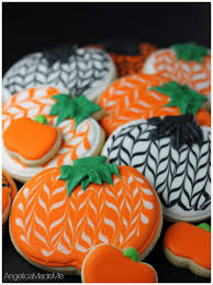 Decorating Icing For Cookies Best 25 Pumpkin Sugar Cookies Decorated Ideas On Pinterest