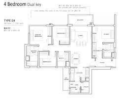 North Park Residences Floor Plan Dual Key My Singapore Condo