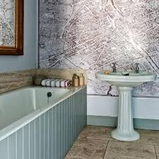 wallpaper for bathroom ideas 15 gorgeous bathroom wallpaper design ideas rilane