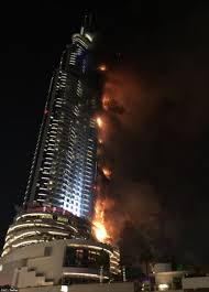 dubai hotel fire investigators probe cause of new year u0027s eve 2016