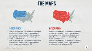 Usa Map Png by U S A Map Keynote Template By Slidehack Graphicriver