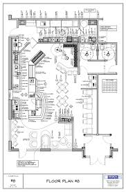 simple restaurant floor plan vitrines