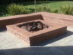 Brick Firepit How To Build A Square Brick Pit Backsplash Baby Photos Ideas