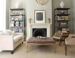 Fireplaces With Bookshelves by Bookshelves Fill Nooks On Either Side Of Fireplace Design Ideas