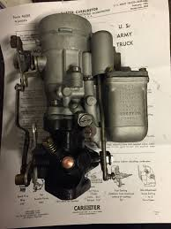carter 539s rebuilt carburator only original parts g503 military