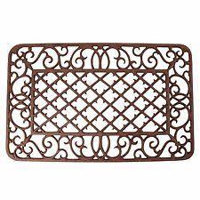 Cast Iron Doormat Vintage Cast Iron Door Mat Ebay