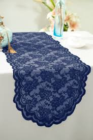 lace table runners wedding navy blue lace table runners wedding
