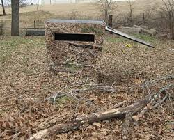 Metal Hunting Blinds Mike Hanback The Mirror Hunting Blind