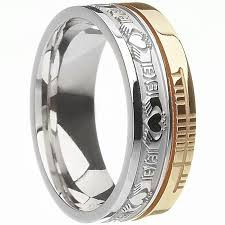 mens claddagh ring wedding ring usg br2