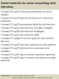 Sample Resume Senior Accountant by Top 8 Senior Accounting Clerk Resume Samples