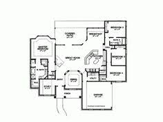 2500 Sq Foot House Plans Inspiring Floor Plan Of A One Story House With One Story Four