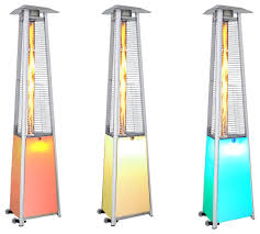 Patio Heater With Light Propane Patio Heater Threeseeds Co